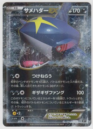 Photo1: Sharpedo EX 070/171 XY