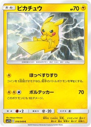 Photo1: Pikachu 016/049 SM11b